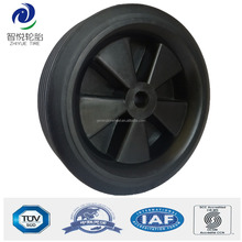 Hot sale 4 inch small rubber wheels for wine cart