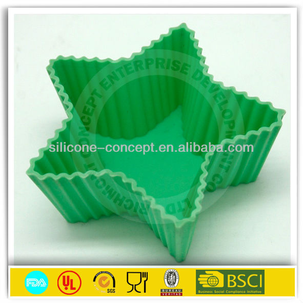 kitchen essential silicone cup cake case/cup cake liner