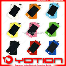 Large wholesale color for iphone 4 front and back housing