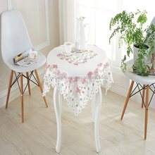 Wholesale Fashion Embroidery washable vinyl table cloth