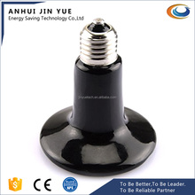 White/Black IR Ceramic Heater Lamp for Warming Animals