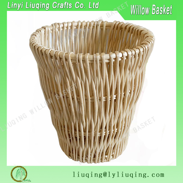 Wholesale High Quality Round Wicker Laundry Basket Waste