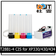 T2881-T2884 Ciss ink tank for EPSON XP-330 XP-430 Wholesale ciss with auto Reset chip
