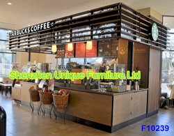 Beautiful Spring Starbucks coffeee shop, coffee kiosk for sale bring unforgettable nice feelings