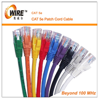OWIRE 4 pairs 24awg cat5e utp patch cord with factory price