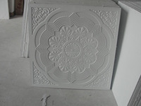 Gold plaster ceiling made in china