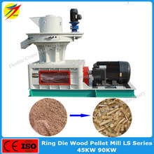 Electric driven wood pellet making machine for sawdust,wood shaving,veneer