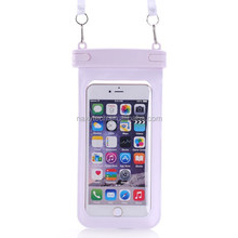 4.8~6 inch seal Waterproof Bag Pouch Underwater Back Cover Case For iPhone 6 5 5s 4 4s for lg g2 Pouch for Galaxy s4 5
