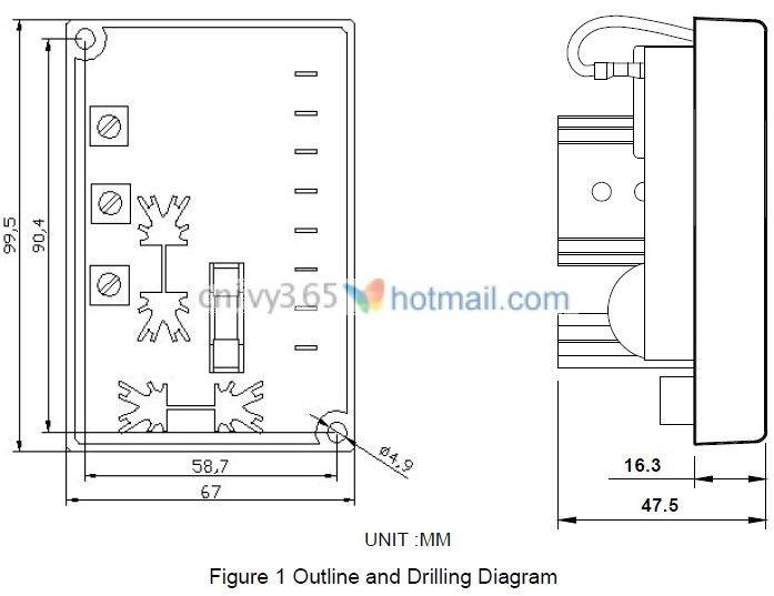 Generator Voltage Regulator AVC63-4, View generator voltage ...