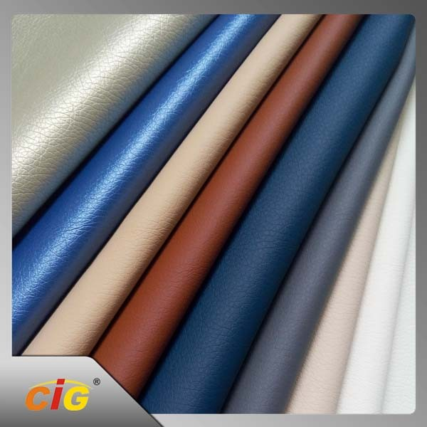PU Leather/Flock PU Leather For Car/Sofa Seat Cover