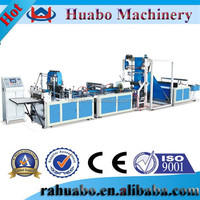 fully automatic non woven printed vest bag making machines