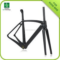 Taiwan carbon frame racing 2016 bicycle road frame high quality carbon road bike frame bicycle frameset
