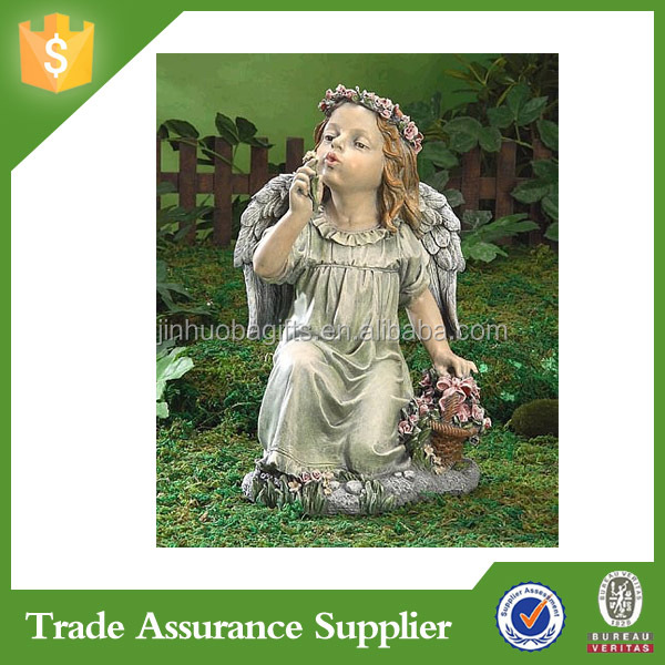 Different Style Home Garden Decoration Hanging Angel Statue