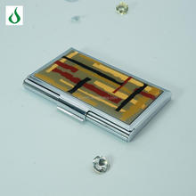 Ultra high sales stainless steel card case metal aluminum business card holder