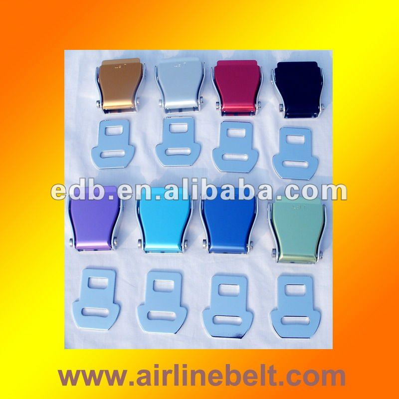 Top quality Chair seatbelt belt buckle and tongue