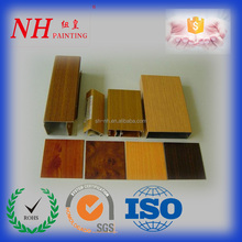 Wood Grain Transfer Aluminum Powder Coating paint