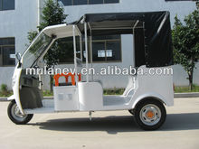 Indian electric tricycle for passengers, electric auto rickshaw, bajaj tricycle, battery operated auto rickshaw