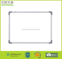 Educational Magnetic Dry Erase Whiteboard With Aluminum Frame