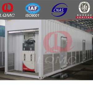 ISO certificate tank container price /skid mounted container station/container gas atation