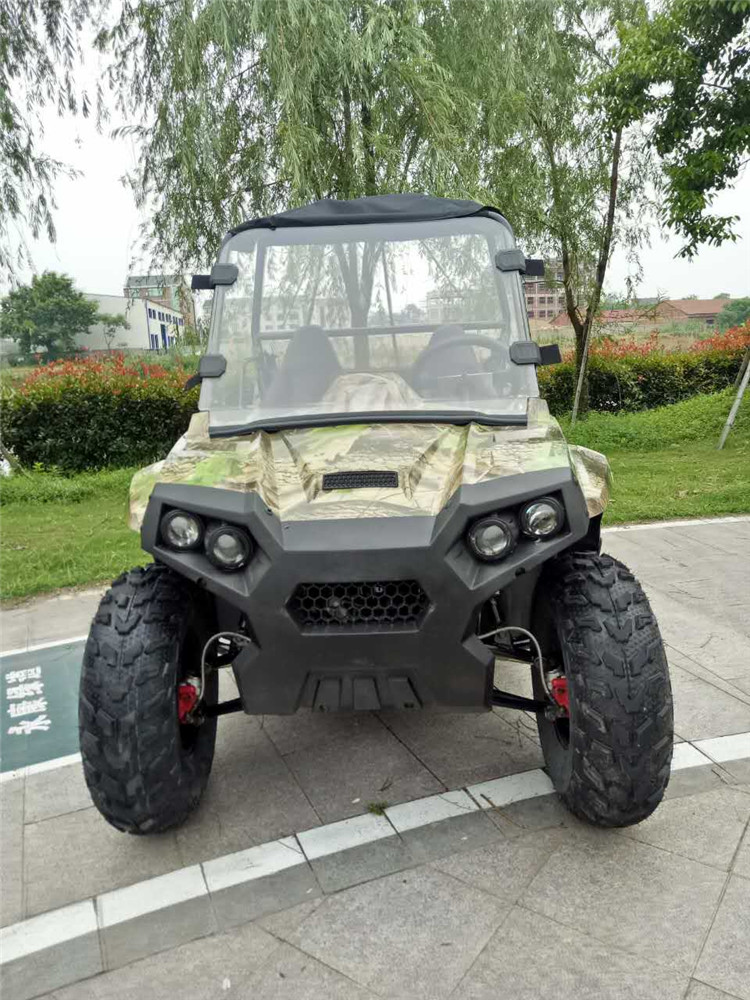 Chinese 4 wheel powerful High Quality off road farm gas UTV