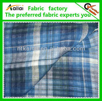 plaid and checked fabric for school uniform