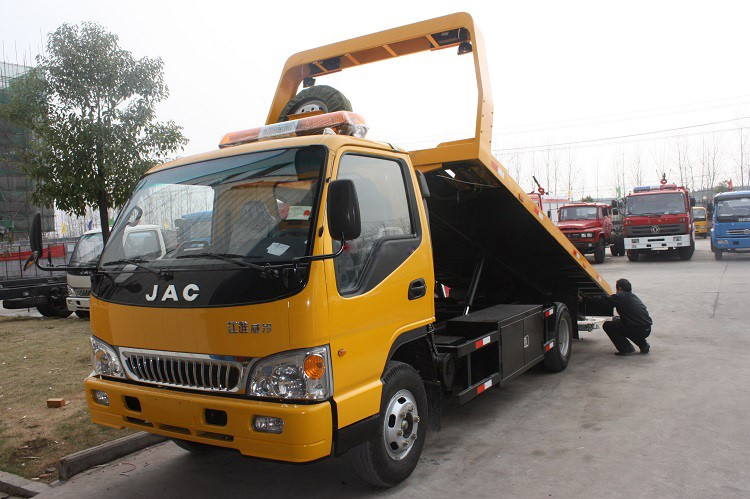 Jac Low Miles Tow Truck Wrecker 4ton Wheel Lift Roll Back ...