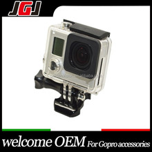 For Gopro Accessories Skeleton Protective Housing + Lens Open Side For Gopro Hero3+