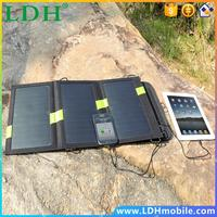 X-DRAGON High Quality 20W Dual USB Output 5V Solar Power Bank Sunpower Solar Panel Charger Camping Charger for Mobile Phone