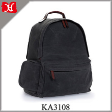 2017 New Waxed Canvas Camera Bag Quality Laptop Backpack Travel Bag