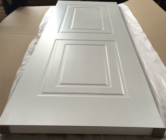 40mm White PVC coated MDF wooden door bedroom and bathroom wood door