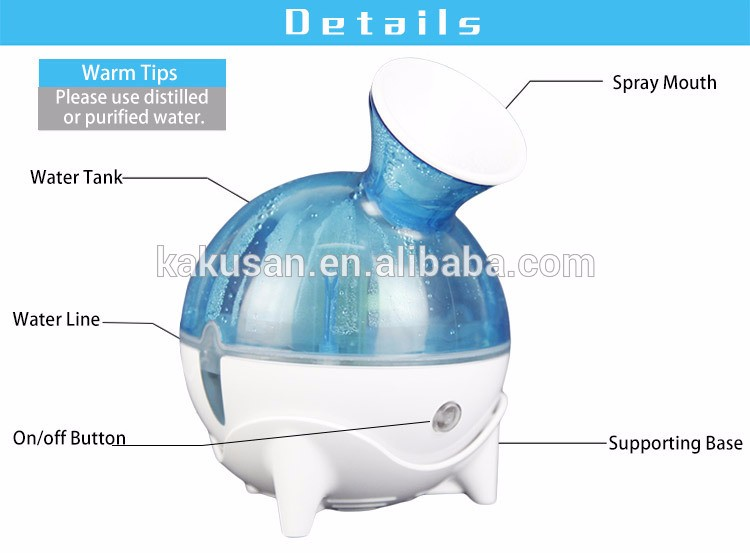 High quality cold face humidifier skin moisturizing home use facial steamer