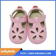 Breathable fringes skidproof shoes leather baby sandals baby stylish girls footwear baby soft step shoes