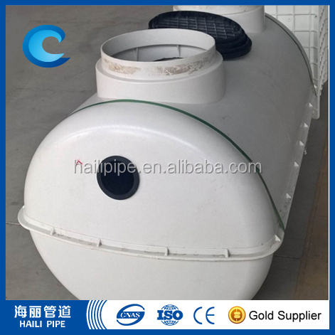 hot sale septic tank for sewerage treatment