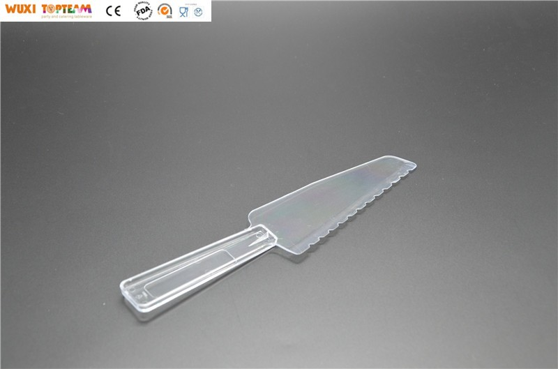 9.5'' Heavy Duty Plastic Pie and Cake Lifter