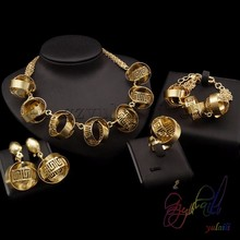 china imported jewelry set lead and nickel safe alloy fashion jewelry sets light weight gold jewellery