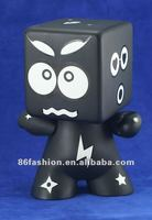 custom-made DIY plastic oem figure(pvc) coin bank ,classic figure, promotion gifts