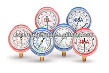 Stainless Steel Vacuum Pressure Gauge with Mbar