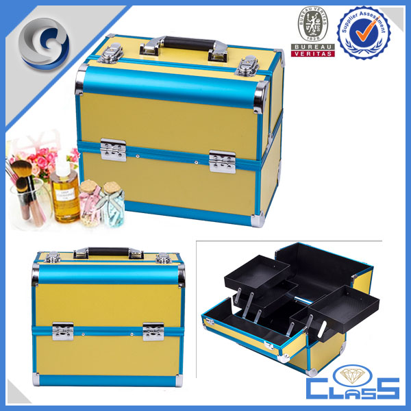 MLD-1225 aluminium carrying cosmetics case