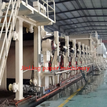 Small copy a4 paper making machine plant, office paper mini production line