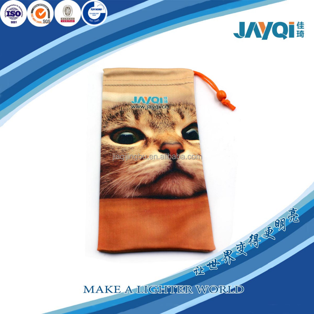 100 polyester microfiber cell phone bag