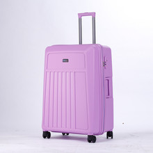 zhejiang made in china candy colorful pp travel luggage urban luggage
