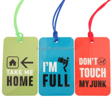Promotional free printable luggage tag templates (HC-012)