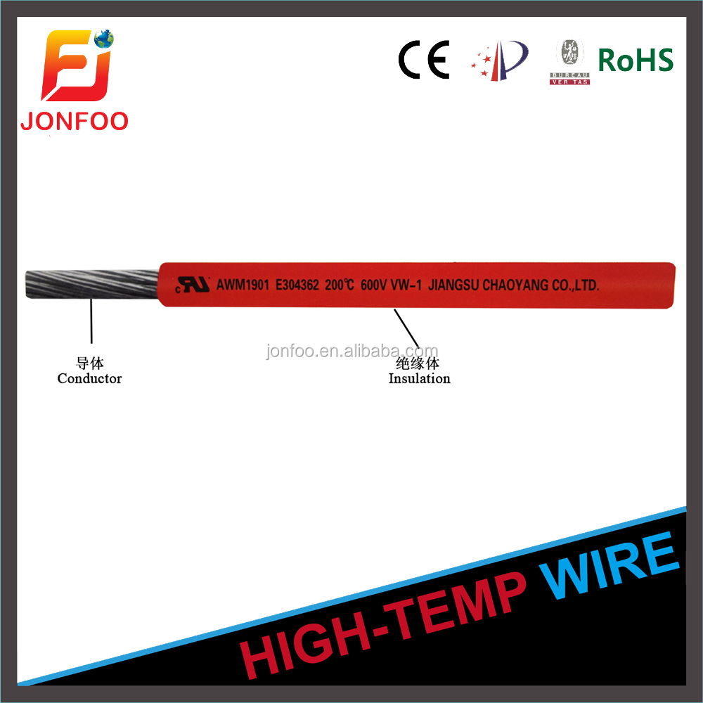 UL1901 resistance of cold teflon copper wire prices