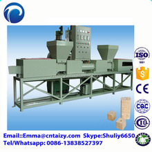 Pallet block making machine Sawdust recycling wood pallet feet making machine Wood chip block machine