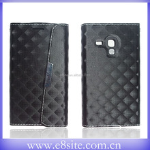 Cell Phone Leather Flip Covers For SamSung Galaxy S3 mini i8190