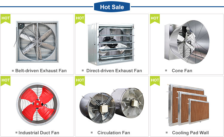 Industrial Fan / Air Ventilation System for Greenhouse/Poultry house/Factory