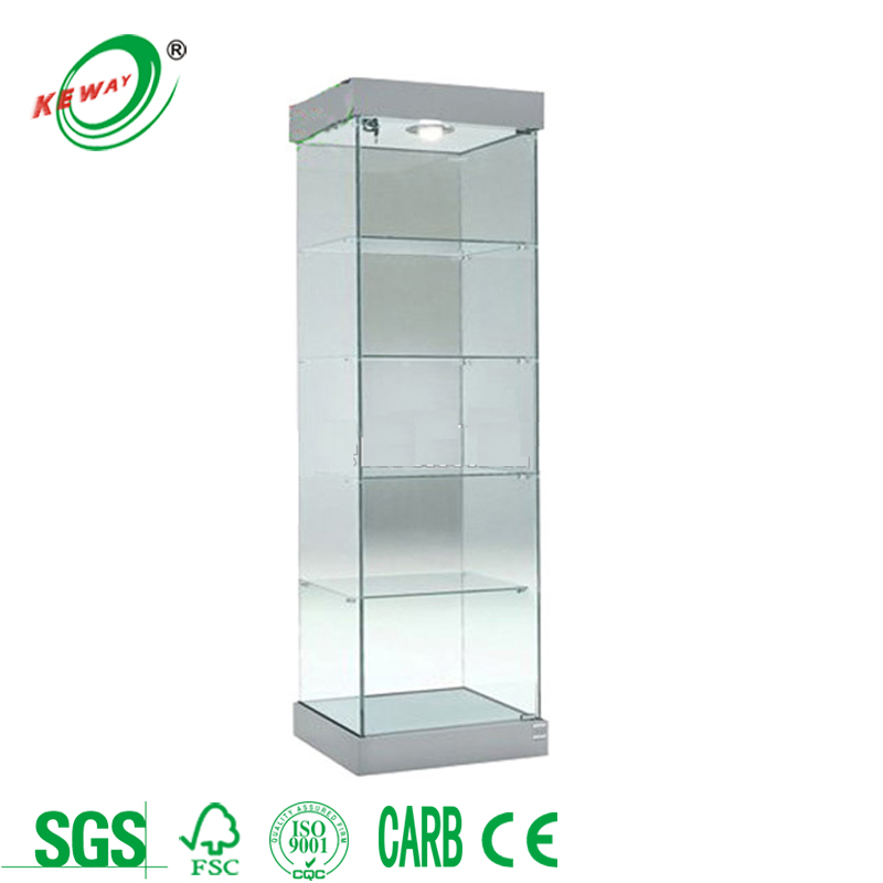 Jewelry Display Cabinet/Glass Vitrine/Display Cases
