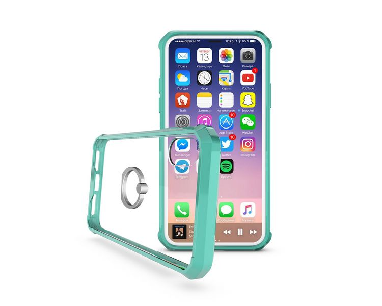 slim armor clear shock-proof Cover for iPhone 8 Phone Case