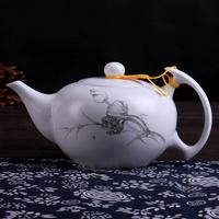 2016 glass teapot turkish teapot pot chinese ceramic tea set porcelain teapot TG-505T339-W-1