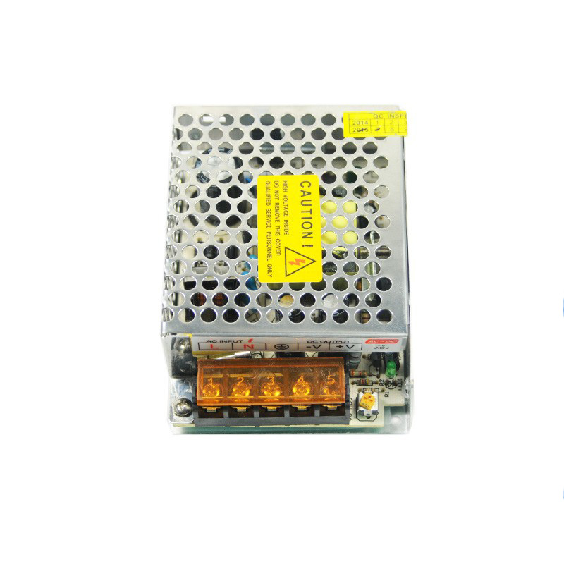 High Efficiency CCTV Camera 12V 2A 24W AC DC Switching Power Supply